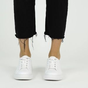 New Republic White Leather Sneakers